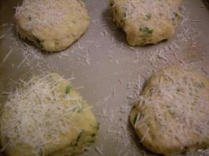 Pre-baked scones