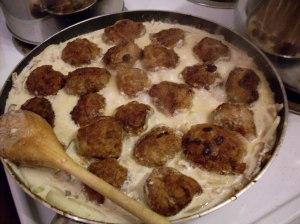 Meatballs in sauce!