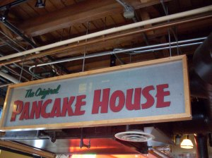 The Original Pancake House.