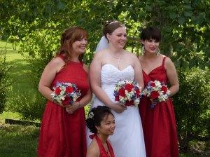 Bridesmaids.