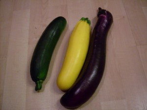 So you can see what size vegetables you'll be working with.