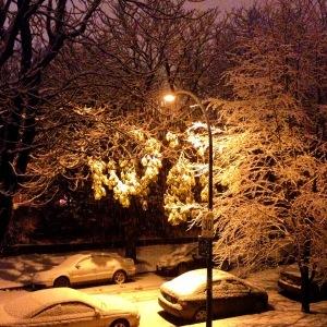Ew, snow.